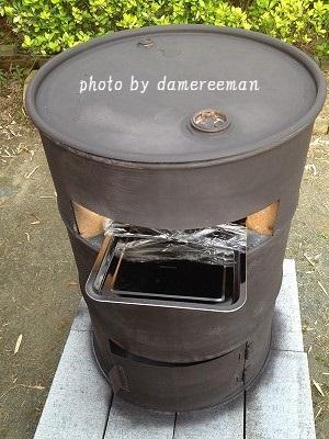 ドラム缶ピザ窯12