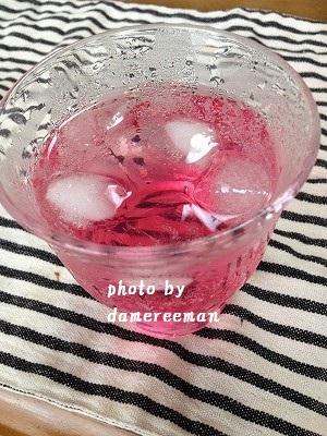 2014.7.6紫蘇ジュース