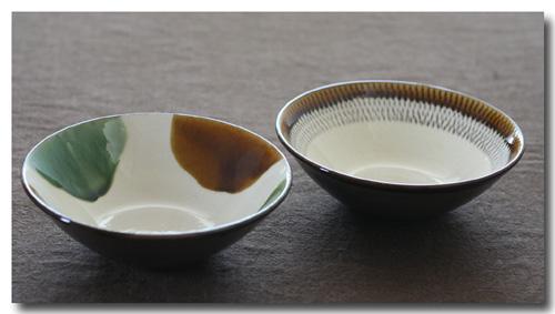 二彩釉 取り鉢