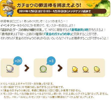 ガチョウの卵