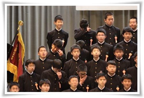 20140313たっくん卒業合唱