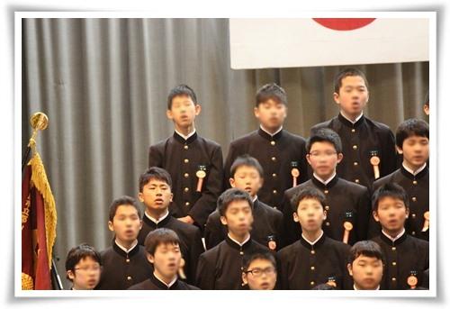 20140313たっくん卒業式合唱