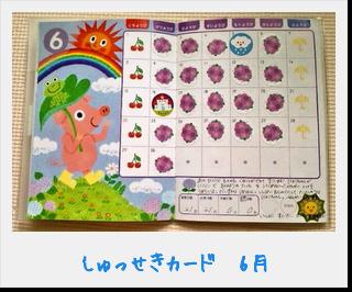 しゅっせきカード14_6月