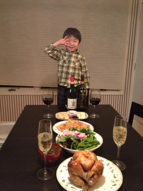 2がつ16日夕食__ 2