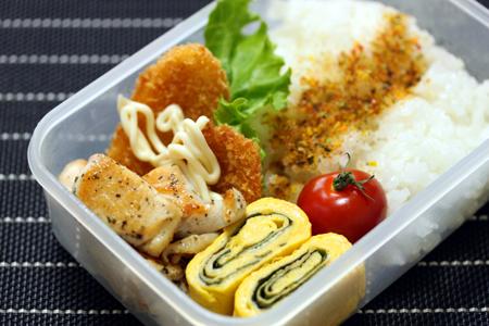 鶏バジルソテー弁当
