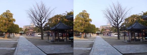 四天王寺 万灯院 南鐘堂(平行法)