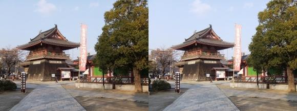 四天王寺 北鐘堂①(平行法)