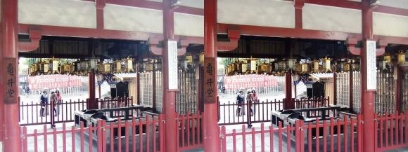 四天王寺 亀井堂②(交差法)