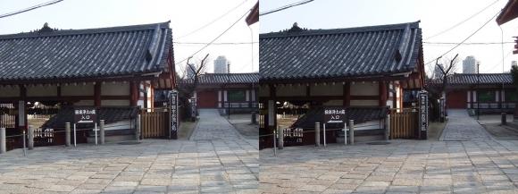 四天王寺 亀井堂①(交差法)