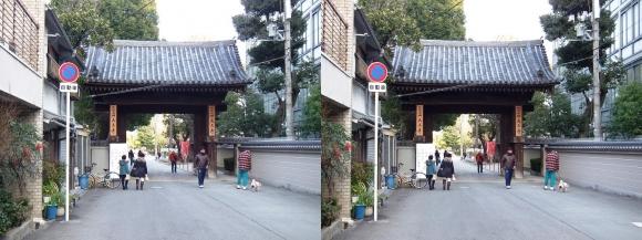 四天王寺 中之門(交差法)