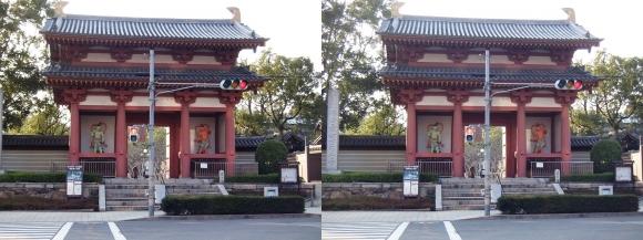 四天王寺 東大門②(平行法)