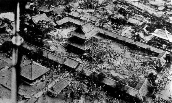 四天王寺 室戸台風被害