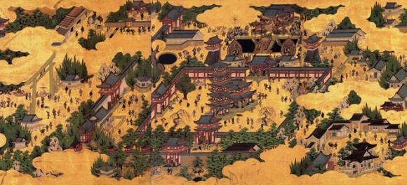 四天王寺元和再建伽藍図