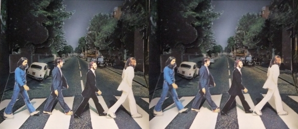 ABBEY ROAD 立版古②(平行法)