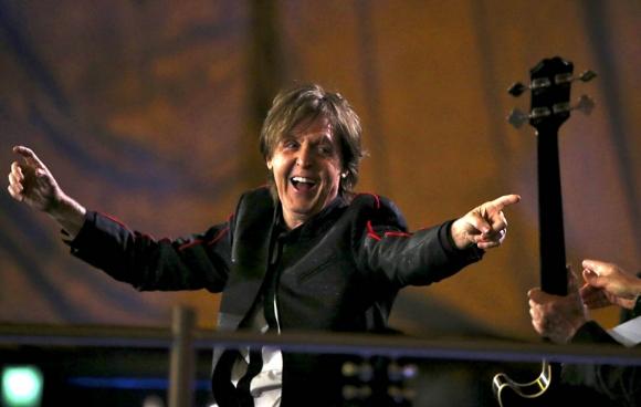 London Olympic Paul McCartney