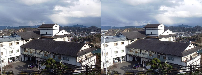 千光寺山荘(平行法)