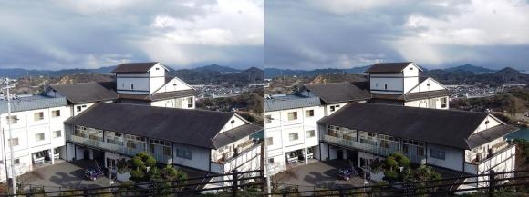 千光寺山荘(交差法)