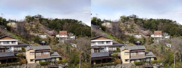 千光寺山展望台①(平行法)
