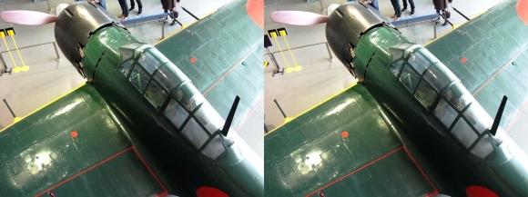 大和ミュージアム 零式艦上戦闘機六二型⑨(平行法)