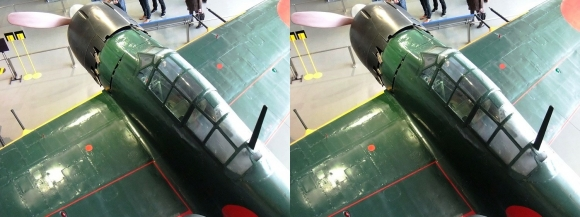 大和ミュージアム 零式艦上戦闘機六二型⑨(交差法)