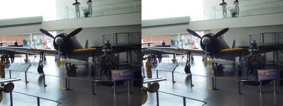 大和ミュージアム 零式艦上戦闘機六二型⑥(平行法)