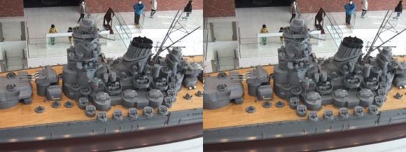 大和ミュージアム 戦艦大和復元模型⑭(平行法)