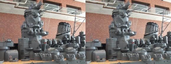 大和ミュージアム 戦艦大和復元模型⑫(平行法)