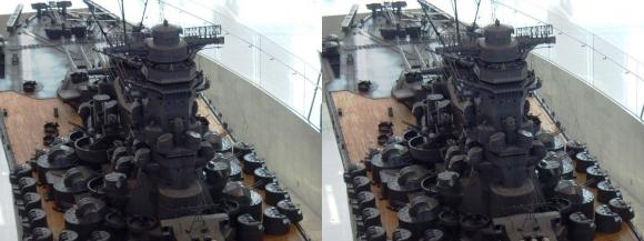 大和ミュージアム 戦艦大和復元模型⑪(平行法)