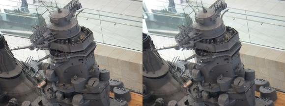 大和ミュージアム 戦艦大和復元模型⑩(平行法)