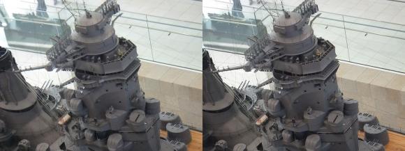 大和ミュージアム 戦艦大和復元模型⑩(交差法)