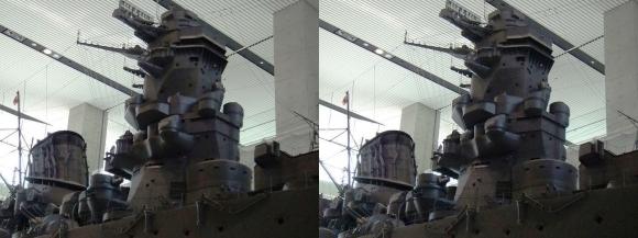 大和ミュージアム 戦艦大和復元模型⑧(平行法)