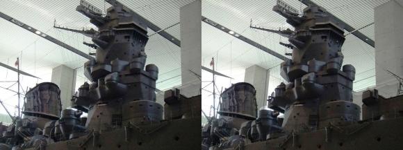 大和ミュージアム 戦艦大和復元模型⑧(交差法)