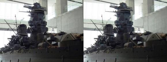 大和ミュージアム 戦艦大和復元模型⑦(平行法)