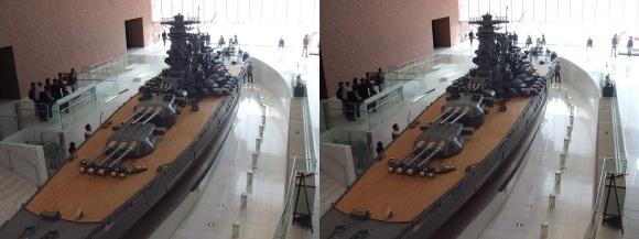 大和ミュージアム 戦艦大和復元模型④(交差法)