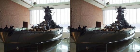 大和ミュージアム 戦艦大和復元模型③(平行法)