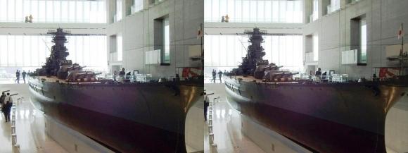大和ミュージアム 戦艦大和復元模型②(交差法)