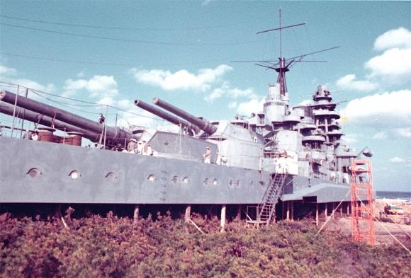 『トラ・トラ・トラ』実物大 戦艦長門ロケセット