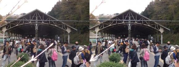 近鉄吉野駅②(平行法)