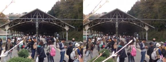 近鉄吉野駅②(交差法)