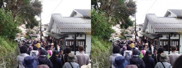 吉野山 黒門②(平行法)