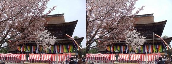 金峯山寺 蔵王堂①(平行法)
