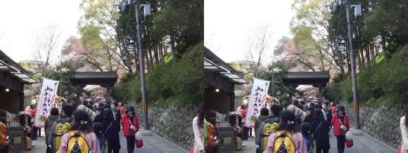 吉野山 黒門①(平行法)