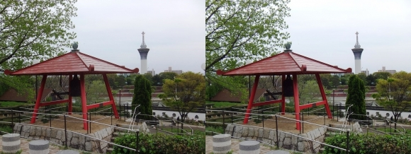 鶴見緑地公園内②(平行法)
