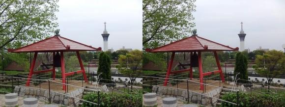 鶴見緑地公園内②(交差法)