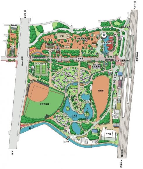 住吉公園map