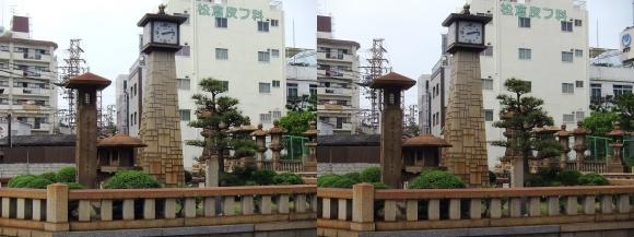 住吉大社参詣道時計塔(交差法)