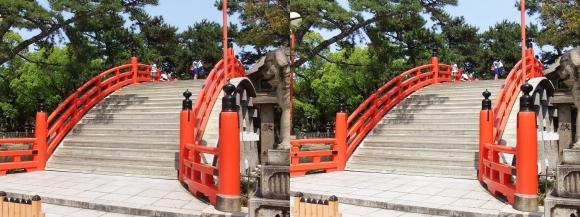住吉大社反橋①(平行法)