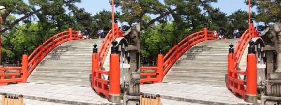 住吉大社反橋①(交差法)