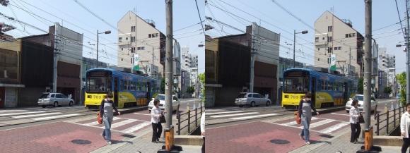 阪堺電気軌道阪堺線②(交差法)