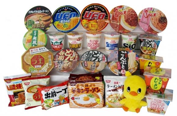 池田市ふるさと納税特産品「日清食品インスタントラーメン詰め合わせ」
